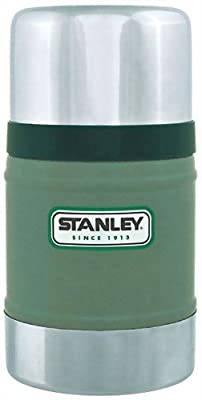 Stanley 17oz Classic Vacuum Food Jar Hammertone Green from Stanley