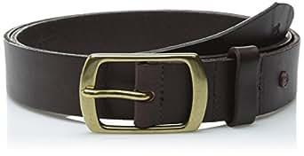 scotch soda s classic clean leather belt brown x