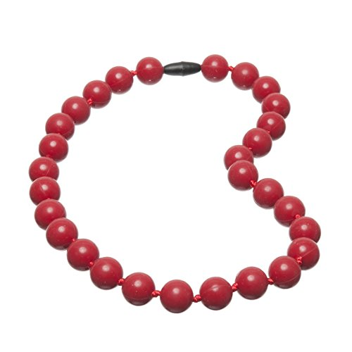 Jelly Juniors Katie Baby Teething Necklace Cherry (Jelly Teething Necklace compare prices)