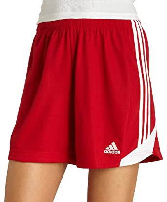 adidas Women's Nova Short (University Red, White, Large)