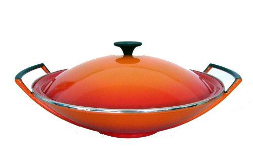 le creuset 26104360900460 wok 5 pezzi 36 cm colore. Black Bedroom Furniture Sets. Home Design Ideas