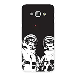 Astro Cat Back Case Cover for Galaxy A8