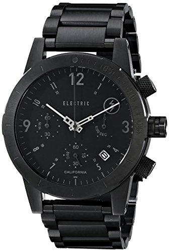 Electric Men'S Ew0020010005 Fw02 Stainless Steel Band Analog Display Japanese Quartz Black Watch