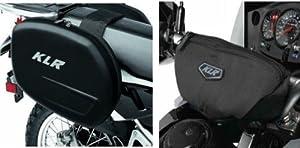 Kawasaki KLR650 KLR 650 Saddlebags With Handlebar Bag Luggage Kit