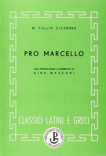 Pro Marcello, Buch
