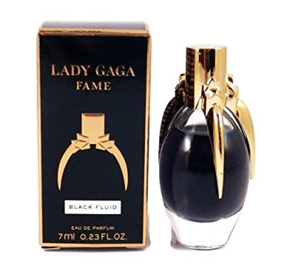 Lady Gaga FAME Black Fluid Eau De Parfum .23 oz (DLX Mini) NEW!