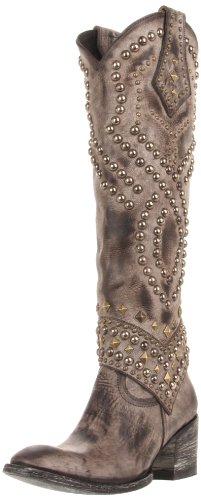 Old Gringo Women's Belinda Toe And Heel Boot,Snow Furia,8 B US
