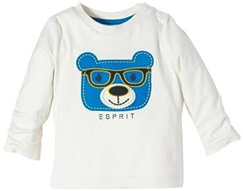 Esprit Baby - Jungen Shirt 093Eebk006, Gr. 62 (3 Monate), Elfenbein (103 Off White)