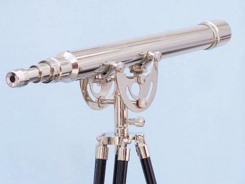 """Floor Standing Chrome Anchormaster Telescope 65"""" - Chrome Telescope"""