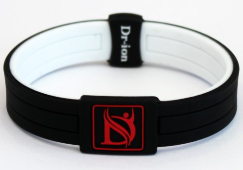 Negative Ion Health Wristband of 2-Tone Design