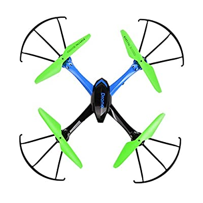 JJRC H98 2.4Ghz 4CH 6-Axis Gyro RC Quadcopter with 0.3MP Camera 3D Flip by JJRC