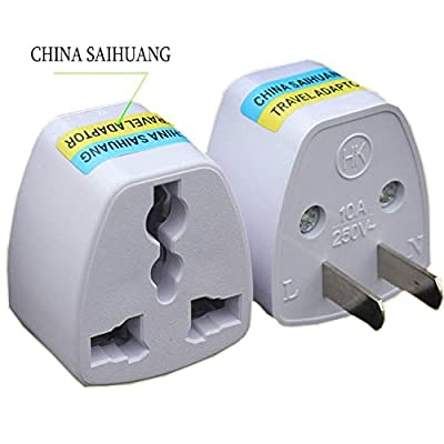 UNIWENT Round Europe to USA Plug Adapter