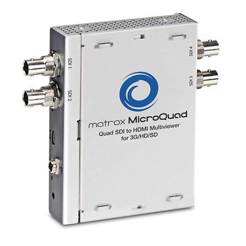 Buy Discount Matrox MicroQuad SDI to HDMI Multiviewer for 3G/HD/SD