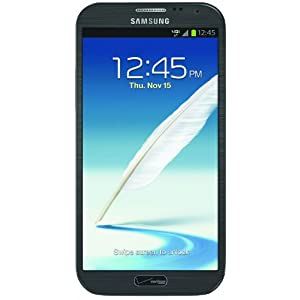 Samsung Galaxy Note II 4G Android Phone, Titanium Gray (Verizon Wireless) $199.99
