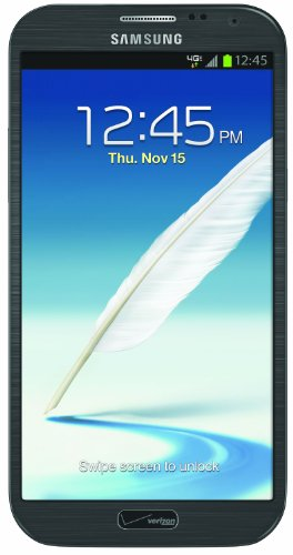 Samsung Galaxy Note II 4G Android Phone, Titanium Gray (Verizon Wireless)