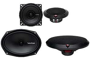 Rockford Fosgate 2) Rockford Fosgate R14X2 4 60W + 2) R169X2 6x9 130W 2-Way Car Audio Speakers