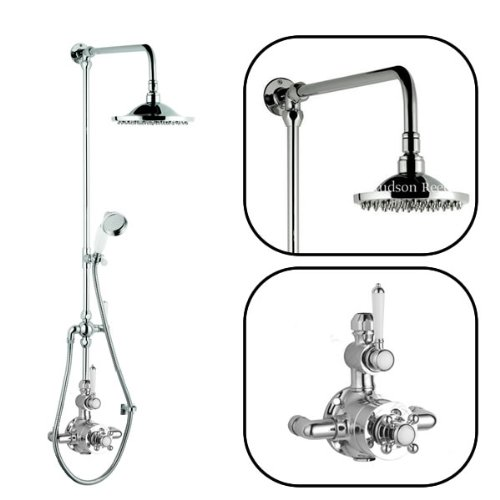 Discover Bargain Hudson Reed - Traditional Thermostatic Twin Shower Faucet Valve System Set With Div...