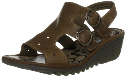 Fly London Women's Ogla Camel Slingbacks P500385004 3 UK