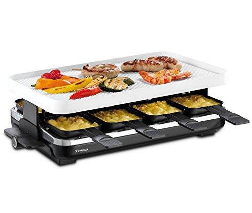 trisa raclette supreme 8 ceramic raclette grill. Black Bedroom Furniture Sets. Home Design Ideas