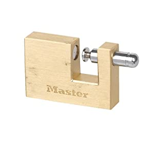 Master Lock 606 60mm Rectangle Solid Brass Padlock