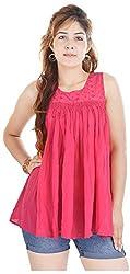 Shop Avenue Women's A-Line Dress (Red )