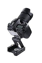 E-Image MH10 Camera Mount DSLR Plate QUICK Release Adaptor Z Straight Bracket Flextilt Tripod Sliding Plate for 15mm rod Shoulder Support Rig Kit & Tripod Compatible with all of the E-Image ES Sliders and iFootage Shark Slider