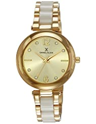 Daniel Klein Analog Gold Dial Women's Watch - DK10765-2