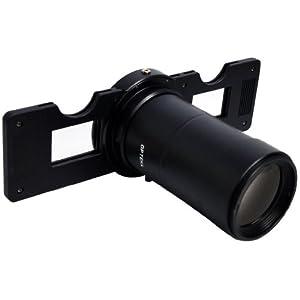 Opteka HD2 Slide Copier for Olympus E-620, E-610, E-520, E-510, E-500, E-450, E-420, E-410, E-5, E-3, E-330, E-1 & E-30 Digital SLR Cameras Includes Bonus 10X Macro Lens - Will Work with the following Zuiko Lenses: 70-300MM, 40-150MM, 14-42MM, 14-45MM, 14-52MM, 35-70MM , 35MM