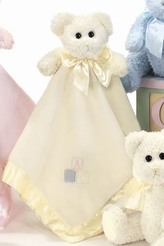Bearington Baby Snuggler Yellow Bear