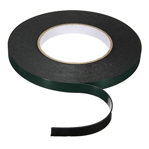 MEXUD Super Strong Waterproof Self Adhesive Double Sided Foam Tape For Car Trim (12MM10M) (Car Emblem Adhesive compare prices)