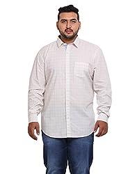John Pride Men's Casual Shirt 1968444031_White_XXXX-Large
