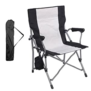 Black Foldable Safari Chair