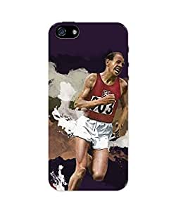 PosterGuy iPhone 5 / 5S Case Cover - Emil Zatopek Sports Legends