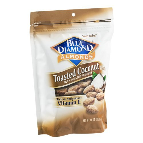 Blue Diamond Toasted Coconut Oven Roasted Almonds (Pack of 2) (Oven Toasted compare prices)