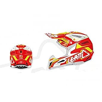 Casque leatt gpx 5.5 composite rouge/blanc t.s - Leatt 433450S