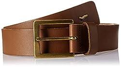 Gas Women's Leather Belt (88386224_Cognac_85)