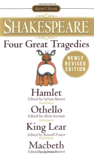 Four Great Tragedies: Hamlet, Othello, King Lear, Macbeth...