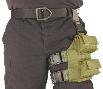 Specter Gear 20-Round Shot-Shell Tactical Thigh Rig, Multicam, 12-Gauge front-360898