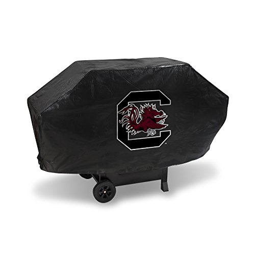 NCAA South Carolina Fighting Gamecocks Deluxe Grill Cover, Black, 68 x 21 x 35