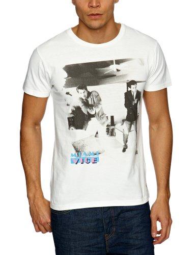 Jack and Jones Miami Vice Plain Men's T-Shirt Multi Small