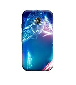 Ebby Premium Back Cover For Motorola Moto E (2nd gen)(Designer Case)