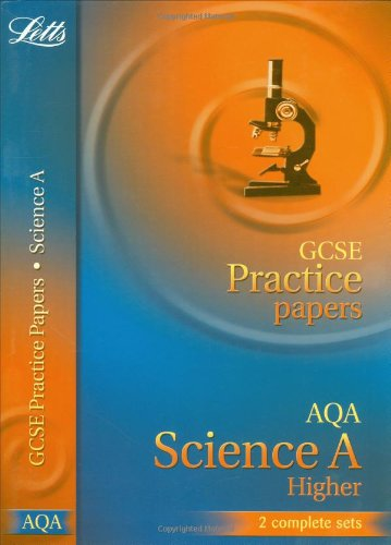 Gcse Practice Papers Aqa Science Higher (Letts Gcse Practice Test Papers)