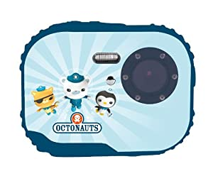 Easypix 10101 Oktonauten Unterwasser-Kamera und -Camcorder (3 Megapixel CMOS-Sensor, Wasserfest bis 3m, microSDHC-Kartenslot)
