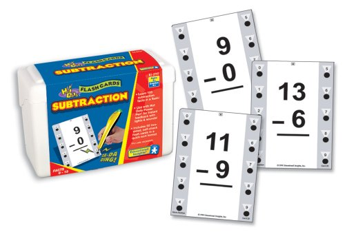 Educational Insights Hot Dots Math Flash Cards 
