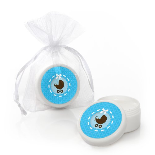 Boy Baby Carriage - Lip Balm Party Favors (Set Of 12) front-688727