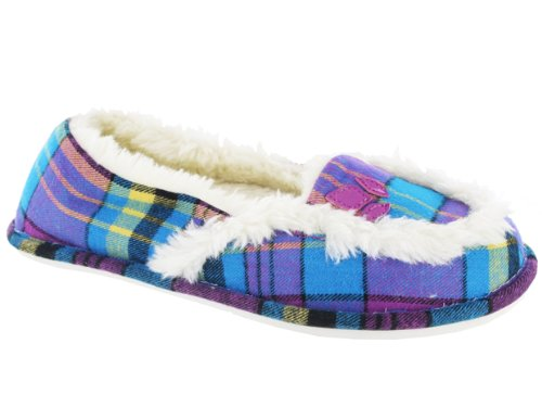Cheap Reef Women's Snooze Bar2 Slippers Purple (8070 GRE)