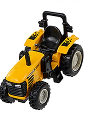 Pull Back and Go - 4 Inch Power Tractor - (Yellow) - 1