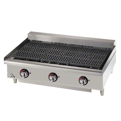 """Star 5136CF Star-Max Counter Electric 36"""" Char-Broiler"""