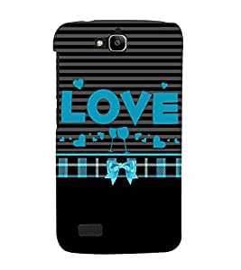 Love is Where You Party 3D Hard Polycarbonate Designer Back Case Cover for Huawei Honor Holly :: Honor Holly