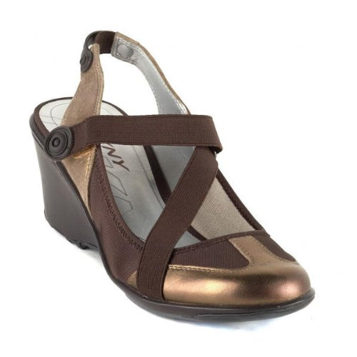 Dkny Active Women'S Hamil Slingback Wedge,Bronze,7.5 M Us front-1043957